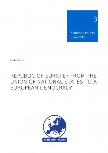 Schuman Papers Nr. 3 (1/2018) Euroopan demokratiasta julkaistu