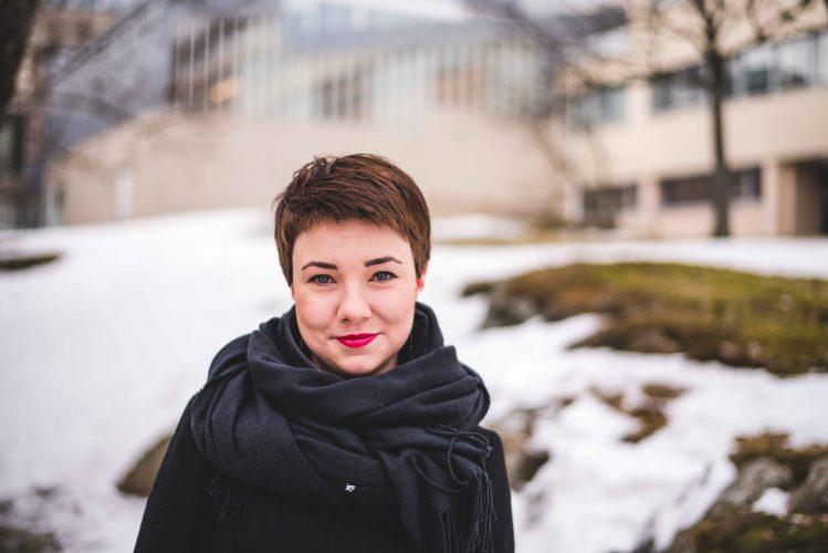 Henkilökuvassa Riina Lumme, seuran neuvottelukunnan tuore puheenjohtaja