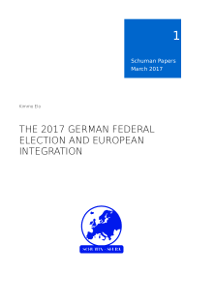 Schuman Papers 1/2017 about the 2017 German Federal Election