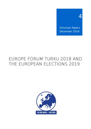 Schuman Papers Nr. 4 (2/2018) julkaistu, teemoina Turun Eurooppa-foorumi ja Euroopan vaalivuosi 2019